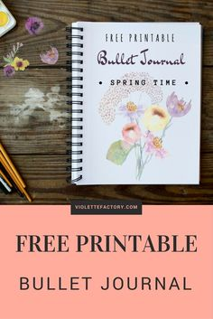 bullet journal free printable