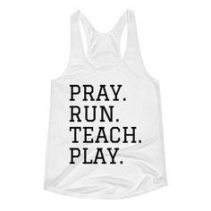 Get your homeschool gear here! Shirts, hoodies, hats, and bags. Racerback Tank, Pray, Homeschool, Teaching, Shirts, Tops, Education, Dress Shirts, Homeschooling