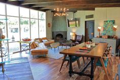 Midcentury Modern House Makeover   GORGEOUS space!