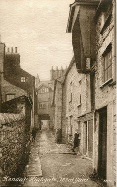 Kendal, Highgate, 123rd Yard by Francis Frith (1914)