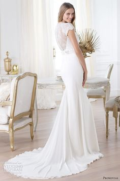 Pronovias Laila dress 2014 (back)