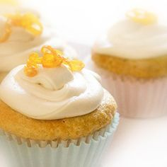 Frosted Orange Creme Cupcakes. Vegan AND gluten-free?? Oh Gluten-Free Goddess, you have a new follower!!