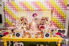 Decoração de festa Lalaloopsy
