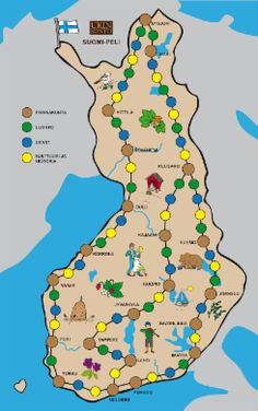 Virikemateriaali | Ukinkontin virikemateriaalit Environmental Studies, Teaching Geography, School Projects, Independence Day, Finland, Kindergarten, Pokemon, Workshop, Classroom