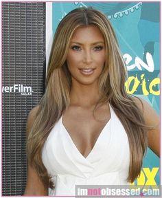 kim kardashian hair color | It's not a wig this time! Kim Kardashian confirmed on her blog that ...
