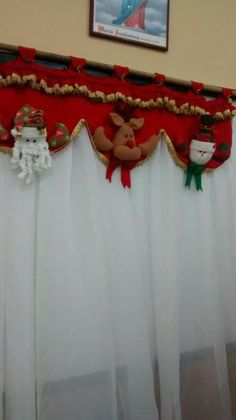 CAmpana navideña Wall Christmas Tree, Felt Christmas Decorations, Christmas Makes, Christmas Centerpieces, Christmas Bells, Christmas 2019, Christmas Home, Christmas Ornaments, Holiday Decor
