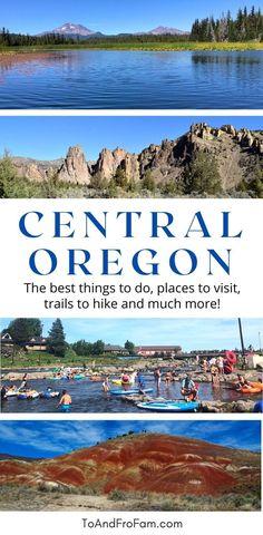 Painted Hills, Columbia River Gorge, Alpine Lake, Central Oregon, Oregon Travel, Best Hikes, Oregon Coast, Lakes, State Parks