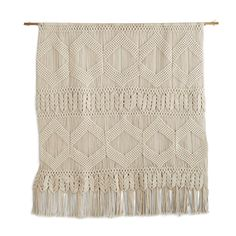 NOT YOUR MOTHER'S MACRAME WALL HANGING