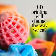 5 amazing ways 3D-printed food will change the way we eat - The Washington Post