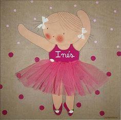 bailarina patchaplique infantil - Pesquisa Google