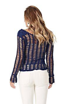 Receitas Círculo - Blusa Vazada Glamour