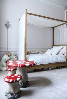 Chambre d'enfant Fille Dorothée Boissier Appartement Gilles & Boissier