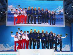 Sochi 2014 Day 11 - Medal Ceremony - Claire Ann Peetz Blog