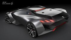 After a rather lengthy teasing campaign, Peugeot has fully revealed its Vision Gran Turismo concept for GT6.