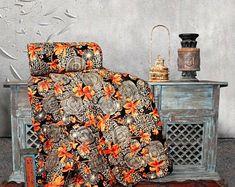 Orange duvet cover king   Etsy Orange Duvet Covers, Best Duvet Covers, King, Handmade, Etsy, Hand Made, Handarbeit