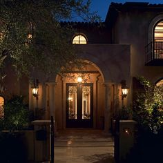 Stunning Entry Way - Mediterranean Style Archway and doors #BUAIA