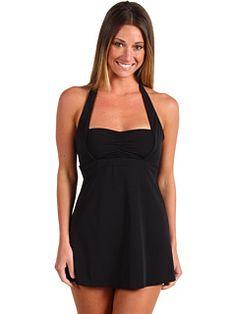 Spanx Swimwear - Halter Swim Dress