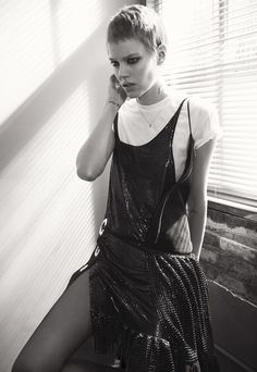 Freja Beha Erichsen for Vogue Paris May 2015 | The Fashionography