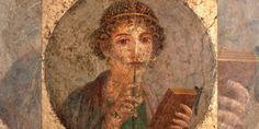 Gioconda Pompeyana, retrato de una mujer joven, Pompeya