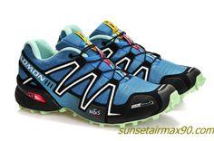 Salomon Speedcross 3 Mens Review Blue Sapphire Black Tiffany Blue Salomon Speedcross 3, Tiffany Blue, Blue Sapphire, Hiking Boots, Sneakers, Shoes, Black, Clothes, Fashion