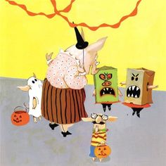 Halloween - Toot & Puddle, 1987
