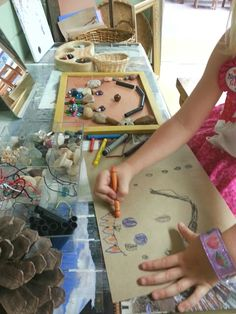 """We asked the question, What is a Portrait?   """"A picture of a person"""".   How do we make a Portrait?   """"We draw it, we paint it, we make i..."""