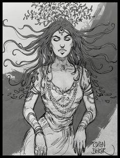Sketch, rohan baikar on ArtStation at https://www.artstation.com/artwork/LgAqR
