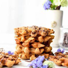 Waffle Maker Peanut Butter Cookies