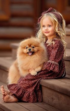 Very beautiful photos and pictures 🍒 beautiful photo â . Animals For Kids, Cute Baby Animals, Kids And Pets, Beautiful Children, Beautiful Babies, Cute Baby Girl, Cute Girl Face, Baby Girls, Little Girls