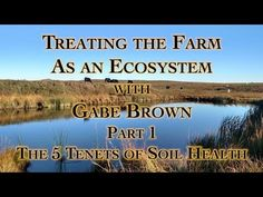 Treating the Farm as an Ecosystem with Gabe Brown Part The 5 Tenets of Soil Health