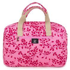 Leaflet weekender bag – Lou Hopper Girls Weekend, Weekender, Bag Making, Fabric Design, Bags, Style, Handbags, Swag, Bag