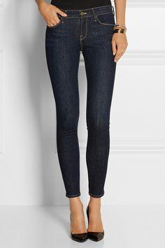 Frame Denim|Le Skinny de Jeanne mid-rise skinny jeans|NET-A-PORTER.COM