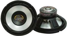Inch Car Woofer Speaker - 300 Watt High Powered White Injected Polypropylene Cone Car Audio Sound Component Speaker System w/ High-Temperature Kapton Voice Coil, 4 Ohm, Magnet - Pyramid Subwoofer Speaker, Stereo Speakers, Best Buy Electronics, Electronics Accessories, Bass, Cheap Car Audio, Online Cars, Electronic Recycling, Cool Things To Buy