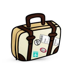 """Bags that look like clip art... but aren't.  I am so amazed right now.  You have no idea. Via """"jump from paper"""""""