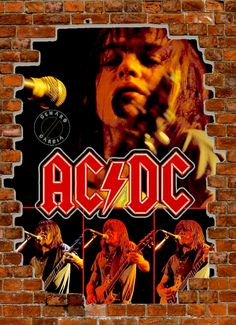 Malcolm Young Hard Rock, Rock Posters, Concert Posters, Woodstock, Malcolm Young, Vintage Music Posters, Bon Scott, Angus Young, Greatest Rock Bands