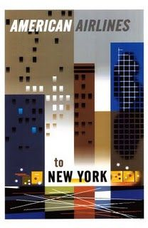 New York with American Airlines #vintage #aviation