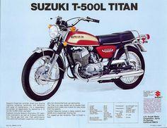 Suzuki 500 ad Sun & Fun Motorsports 155 Escort LN, Iowa City, Iowa 319-338-1077
