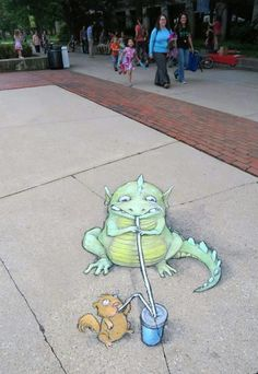 The amazing David  Zinn.