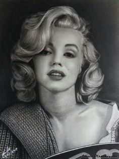 Marilyn Monroe  Graphite nd carbon pencils  9 × 12 inches  A commission work  Marilyn Monroe (1926-1962) Model, actress, singer and arguably one of the most famous women of the twentieth century. She was born on June 1, 1926, in Los Angeles, California. During her all-too-brief life, Marilyn Monroe overcame a difficult childhood to become one of the world's biggest and most enduring sex symbols. ... Monroe died of a drug overdose on August 5, 1962, at only 36 years old. Pencil Art, Pencil Drawings, Charcoal Drawing, Over Dose, Famous Women, Light Art, Marilyn Monroe, The Twenties, Pop Art