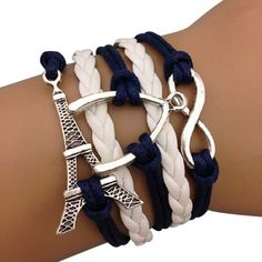 Wishing (Waiting) for Paris Arm Party Bracelet