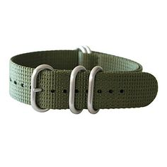 """20mm 5 Ring 12""""(300mm) Military Army Diver Nylon Watch Strap Band #Olive Green - Stainless yeppoonus http://www.amazon.com/dp/B00RD0YJ1Q/ref=cm_sw_r_pi_dp_Gc0Yub1D31Y3P"""