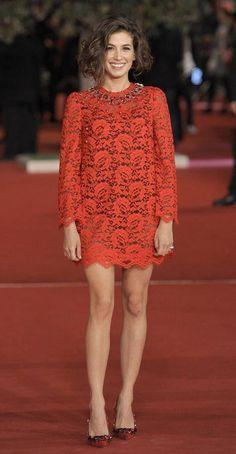 Roma Film Festival: gli outfit migliori - www. Star Fashion, Fashion Models, Italian Beauty, Celebs, Celebrities, Film Festival, Cute Dresses, Actors & Actresses, Versace