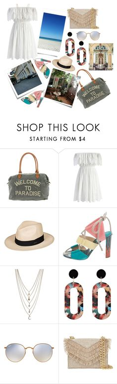 """Always in my mind..... Cuba....."" by alowho ❤ liked on Polyvore featuring Billabong, Post-It, Chicwish, Roxy, Jimmy Choo, Ettika, Ray-Ban, Cynthia Rowley and Rizzoli Publishing"