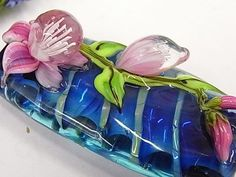 Jenni's beads: A Floral Glass Bead Making Class