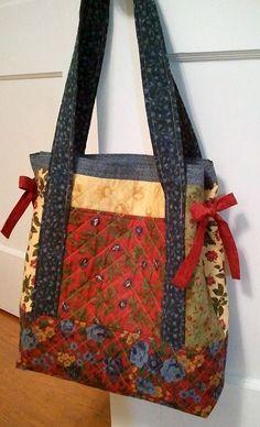 Miss Nancy's Patchwork Tote Bag Simplified