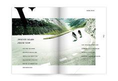 Vie Magazine by Caitlin Workman, via Behance