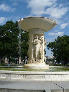 Dupont Circle Fountain (where the oracles hang) Dupont Circle, Fountain, Outdoor Decor, Water Fountains