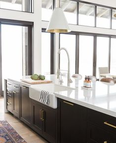 More On New Kitchen Countertops Kitchen Interior, New Kitchen, Kitchen Decor, Kitchen Design, Kitchen Ideas, Kitchen White, Kitchen Inspiration, Home Design, Interior Design