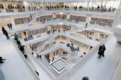 Stuttgart City Library - inside