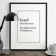 """""""Its in the dictionary.. I think  ~~ Visit BrewingBeards.com Follow @BeardMotivation #BrewingBeards #uygp ☕ #beard #beardgang #beards #bearded…"""""""
